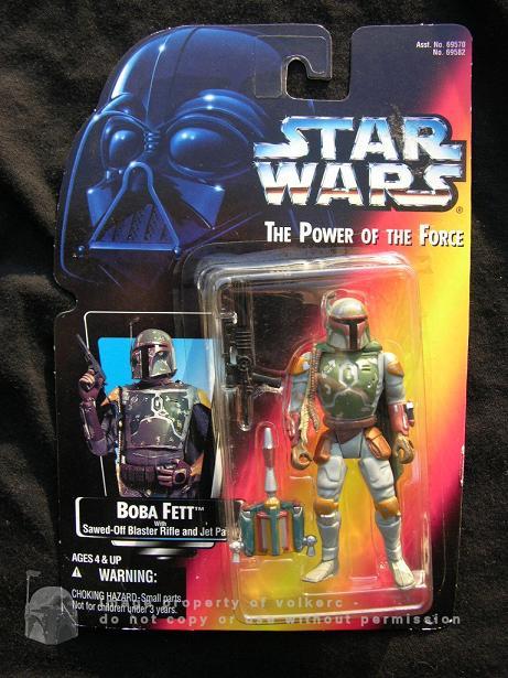 Action- & Spielfiguren Star Wars Power Of The Force Figur Cardback Backer Karte Set Kenner B